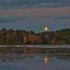 Hunter's Moon over the Powow... October 18, 2013.