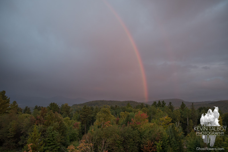 Nice start to the day: Sunrise rainbow… September 18, 2014.