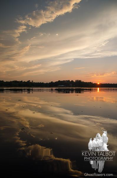 Powow sunset … August 27, 2014.