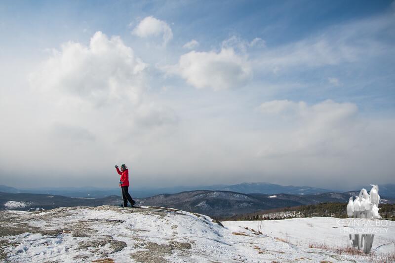 Foss Mountain… February 27, 2014.