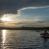 Sunset paddle on the Powow… June 18, 2014.