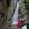 Visiting Glen Ellis Falls today in the rain… September 11, 2014.