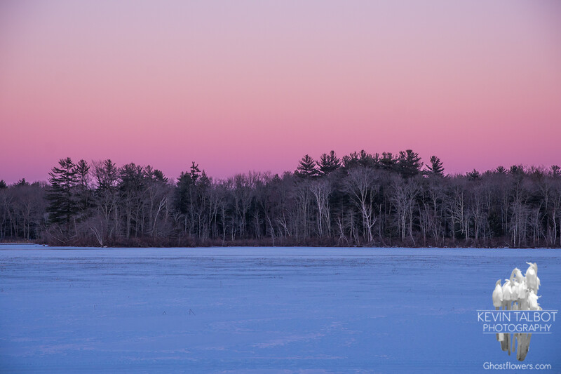 Thirds-Eastern sky at sunset… January 29, 2014.