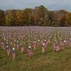 Field of Flags, Plaistow, NH… October 29, 2014.