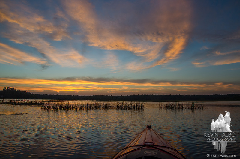 Sunset on the Powow… August 2, 2014.