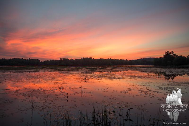 Powow sunrise… July 1, 2014.