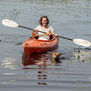 Linda took Coco for a paddle… June 8, 2014.