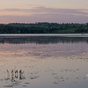 Pastels at dusk on the Powow… June 1, 2014.