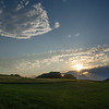 Sunset at Woodsom Farm, Amesbury, Massachusetts… July 9, 2014.