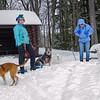 Koko, Judy, Blue, Bella, Cheryl & Blizzard today at Kingston State Park… February 6, 2015.