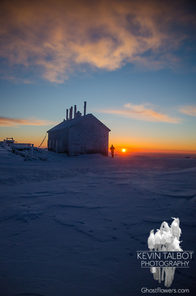 Sunrise on Mount Washington… March 16, 2015.