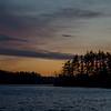 Great Pond after sunset tonight… November 27, 2015.