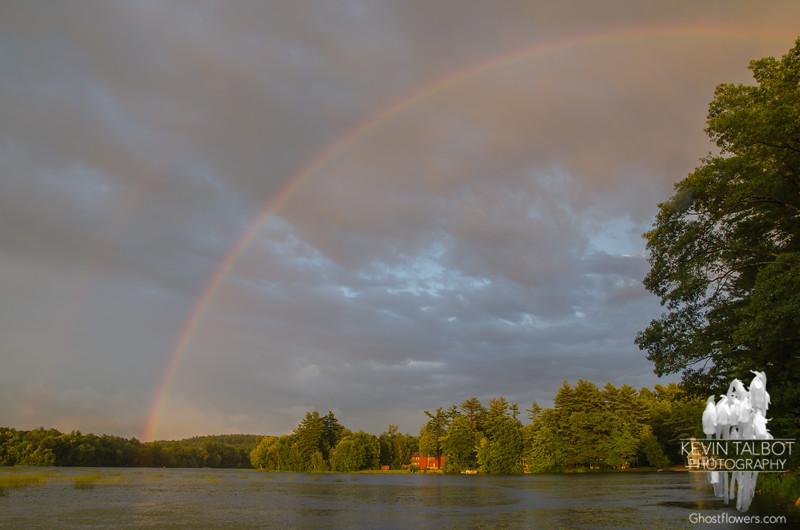 More Powow Magic- A fast moving, drenching squall blew threw the Powow and left this in its wake. Ok, we're a week late… July 1, 2015.