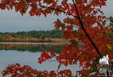 Today on Great Pond, Kingston, NH… October 9, 2015.