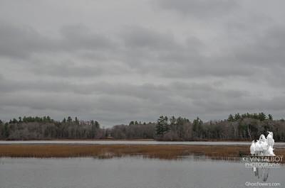 Gray November on the Powow… November 19. 2015.