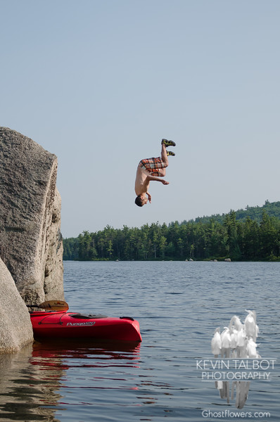 Judy, Jim and I really flipped for Whitton Pond today… July 6, 2015.