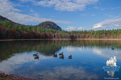 Beautiful November day at Echo Lake… November 5, 2015.