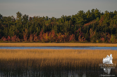 Last light on the Powow… October 6, 2015.