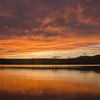 Clearing at sunset on Chocorua Lake… October 9, 2016.