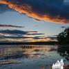 Powow sunset... June 9, 2016.