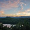Sunset from Camp Susan Curtis, Stoneham, Maine… September 16, 2016.