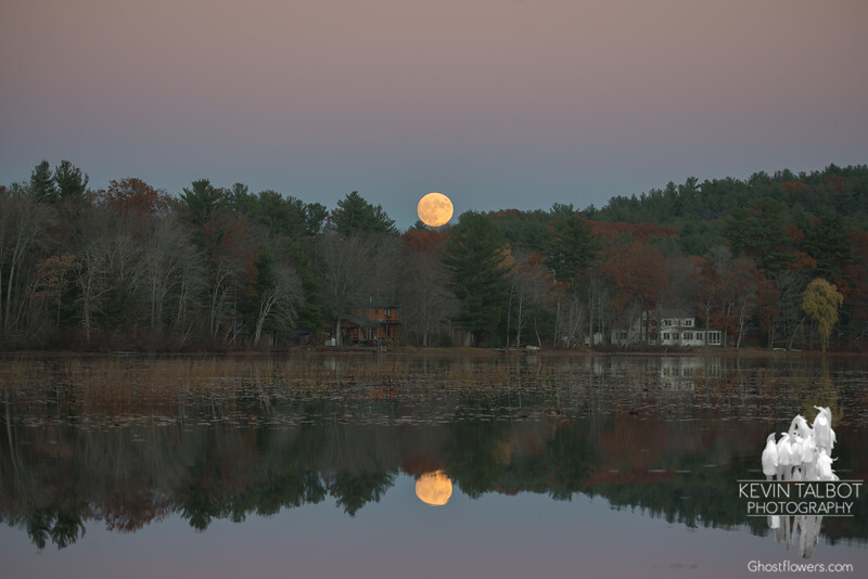 There's no place like home- Super Moon over the Powow... November 13, 2016.