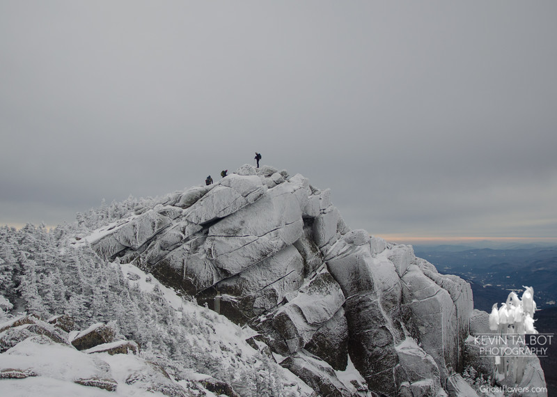 Mount Liberty with friends… January 30, 2016.