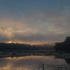 Steamy Powow sunrise... August 3, 2017.