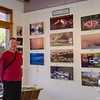 Hanging out today- Many thanks to my two great gallery managers Annick and Mary Jane-MJ is also guest photographer with this shot! Many thanks as well to Bill who helped me hang the show, which can be seen in person through November 24th at Seacoast Artist's Association 130 Water St. Exeter NH... October 28, 2017.