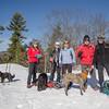 Dogs & good friends on West Rattlesnake... January 10, 2018.
