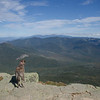 Looking out over the Pemigewasset Wilderness from Mount Lafayette #30 and Mount Lincoln #31 today on a warm, breezeless, Bluebird Day... September 27, 2018.