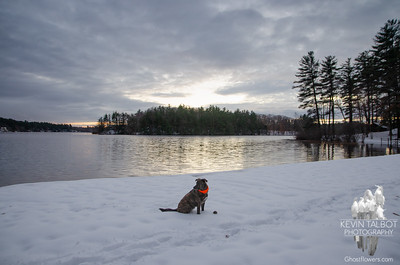 First snow at Kingston State Park... November 16, 2018.