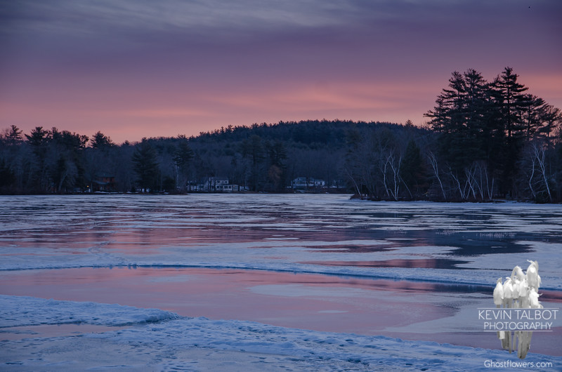 Powow sunrise... January 25, 2018.
