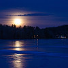 Blue Hour Blue Moon over the Powow... January 31, 2018.