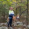 A Boy, a Dog, and an October Hike... October 9, 2021.
