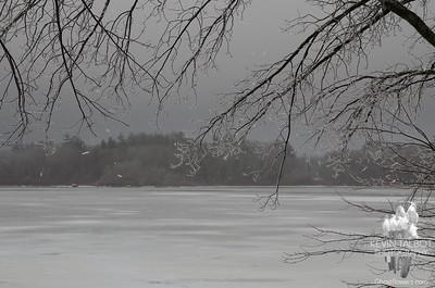 Snow, rain, freezing rain, snow, wind... February 7, 2020.