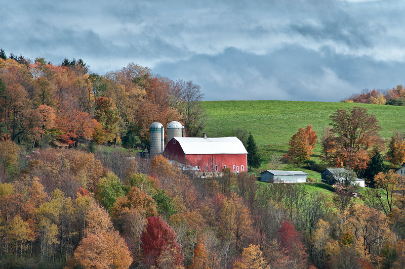 October 13 - Another barn in near my home.