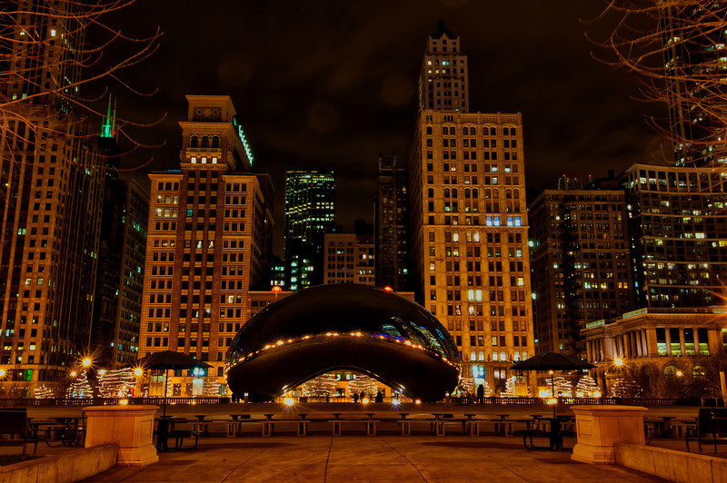 December 12 - Millennium Park in Chicago