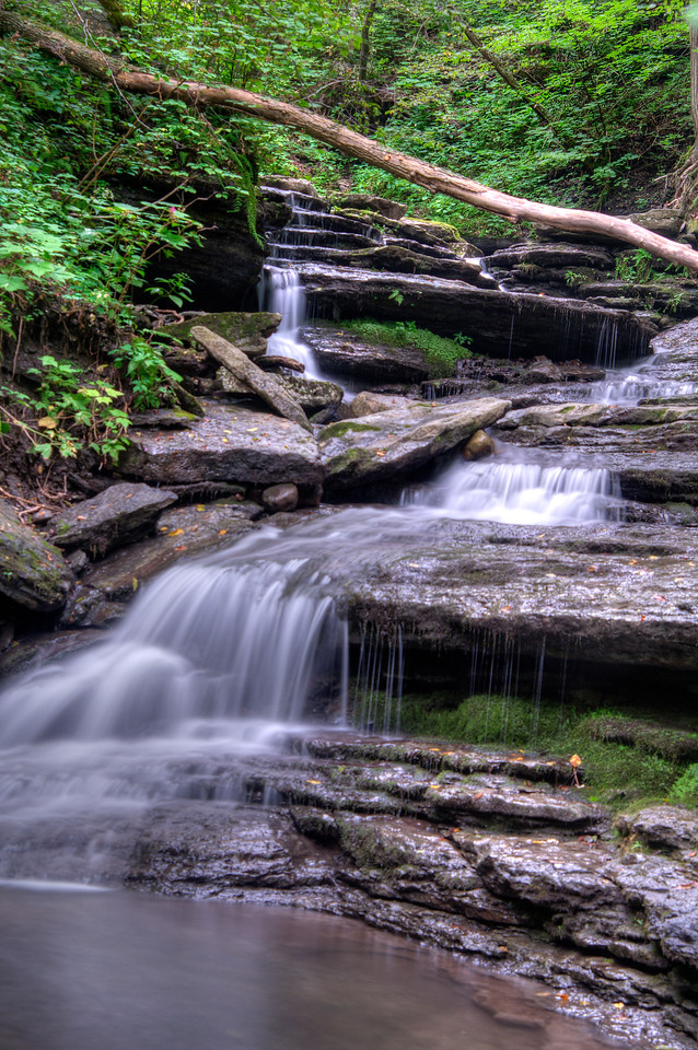 August 6 - Pixley Falls State Park, Boonville, NY