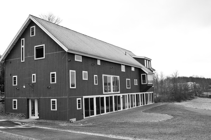 December 28 - Golden Artist Colors Artist in Residence Facility on Bell Road, Town of Columbus.  They gutted and fully restored an old barn as a beautiful facility.