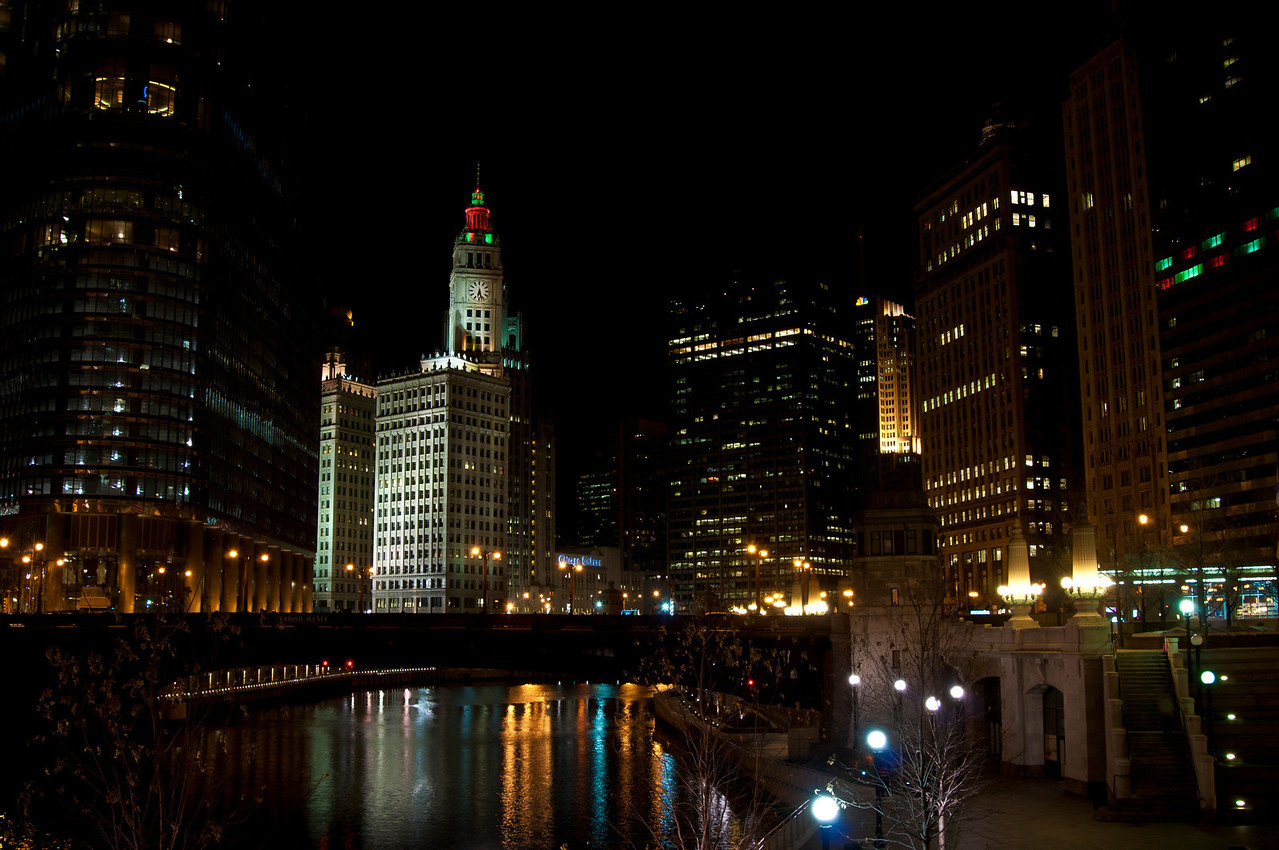 December 13 - Chicago River