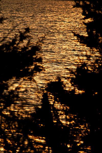 April 15 - Sunset over Cutchogue Harbor.
