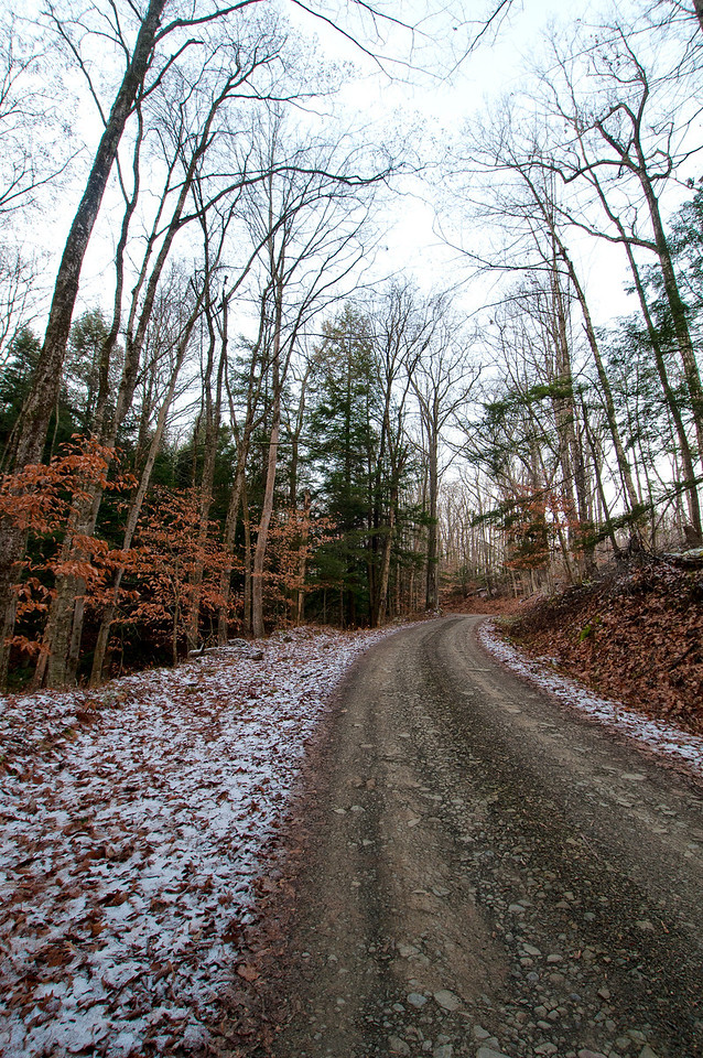 December 4 - Norton Road in Columbus.  This part is a seasonal road which means soon it will be impassable until snowmelt.