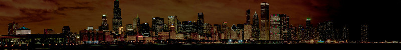 December 15 - View of the Chicago Skyline from the Adler Planetarium.  Cold and windy yet breathtaking!