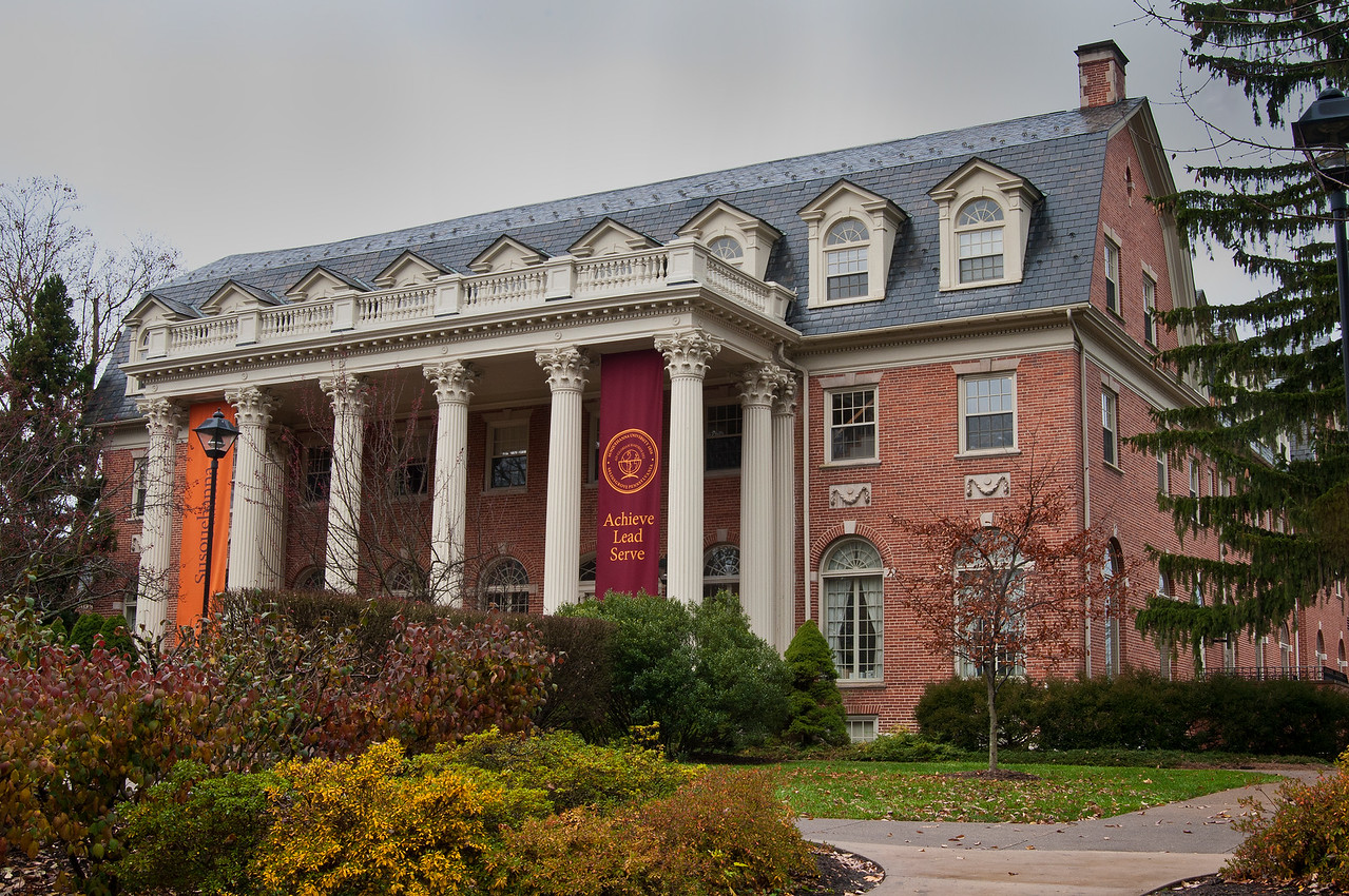 November 21 - Seibert Hall at Susquehanna University, Selinsgrove, PA.  Picked up my daughter from college for Thanksgiving break.