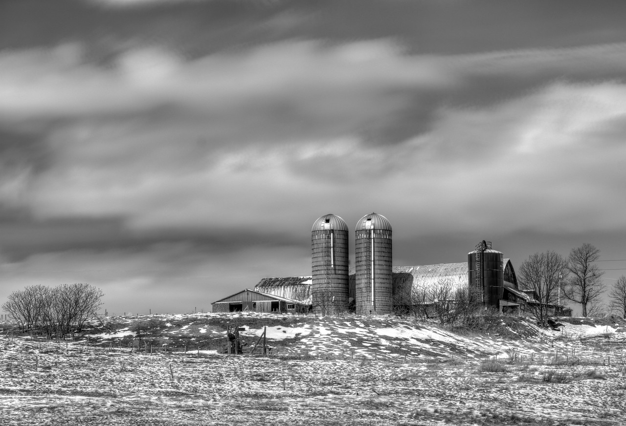 March 25 - Farm in Sherburne, NY.