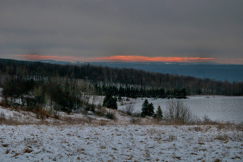 December 25 - In the hills north of Herkimer, NY.
