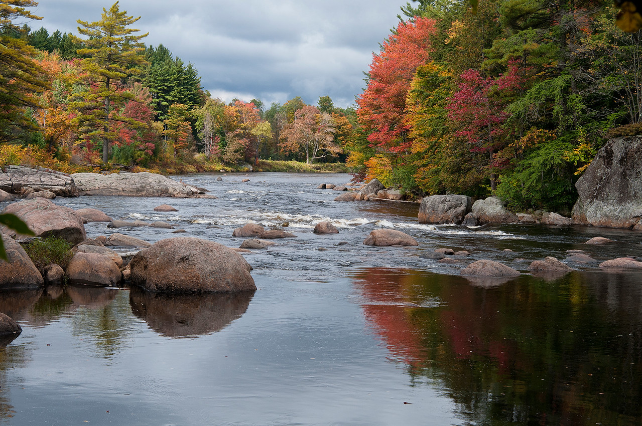 September 24 - Fall in the southern Adirondacks.