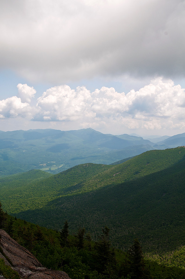 June 18 - Climbed two mountains in the Adirondacks, Cascade and Porter on Saturday.