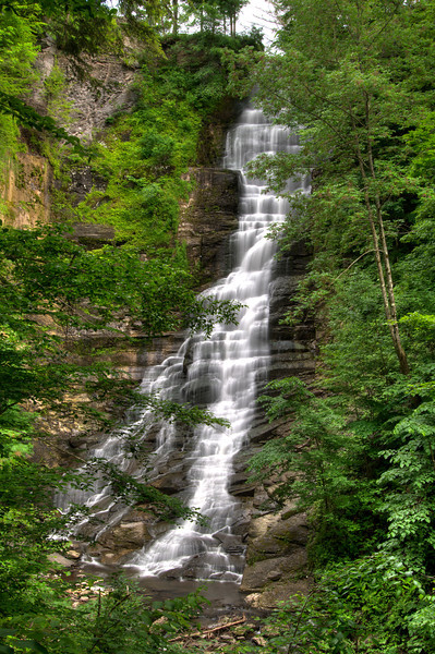 June 14 - Pratts Falls about 15 miles south of Syracuse, NY